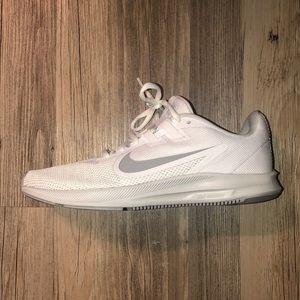 White/Grey Nike Running